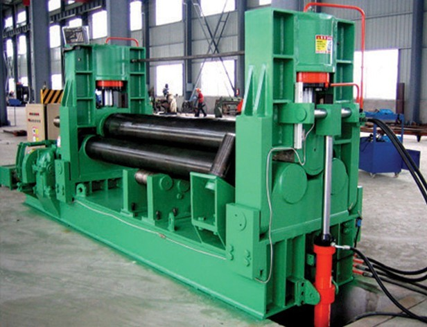 Cheap price 3 <strong>rolls</strong> small plate metal sheet rolling <strong>machine</strong>