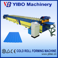 Hangzhou YIBO steel profile metal roofing sheet bending molding machine