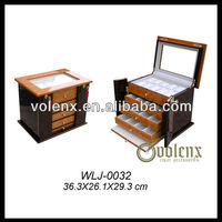 Hot Sale!! Volenx Custom-made Fancy Wooden Watch Case(BV&SGS)