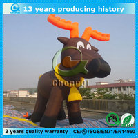 Customized advertising inflatable dog cartoon