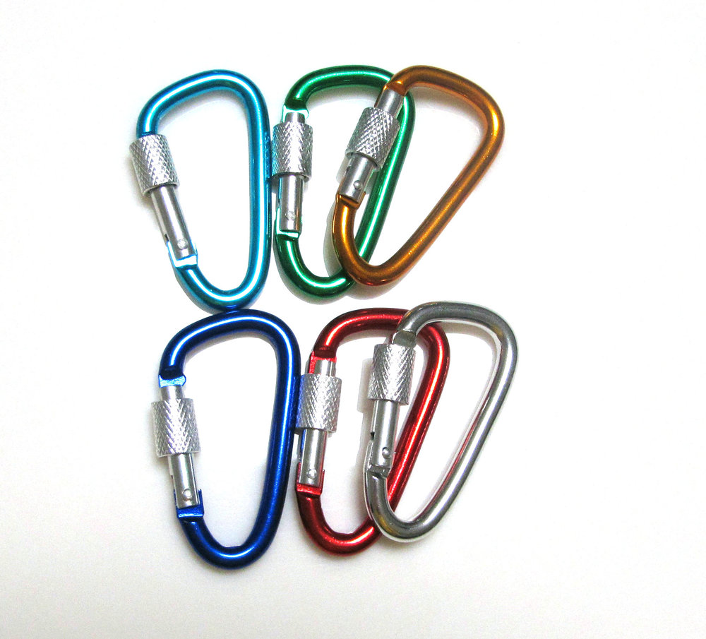 multifunctional bulk heavy duty metal carabiner keychain factory wholesale