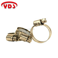 Stainless steel pipe fittings type clamp for water pump and heater