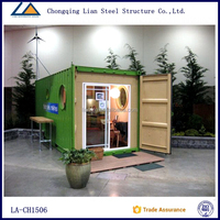 China supplier New design portable Container house luxury hotel 20 ft