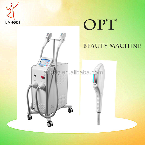 2017 trending products opt shr hair removal + elight multifunctional machine
