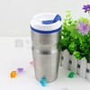 Promotional items mug/eco-friendly portable drinking cup/stainless steel advertising cup