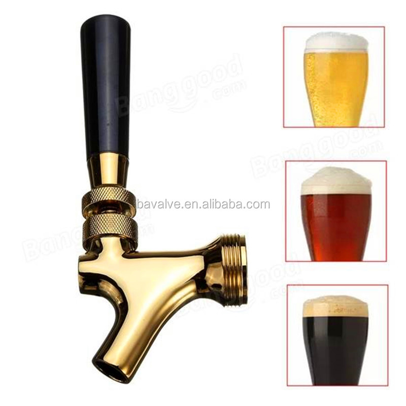 Good Quality Sell Well Various Colours Beer Dispenser Brass Faucet