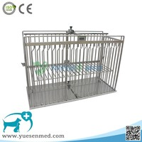 low price good quality stainless steel cage for veterinary injection