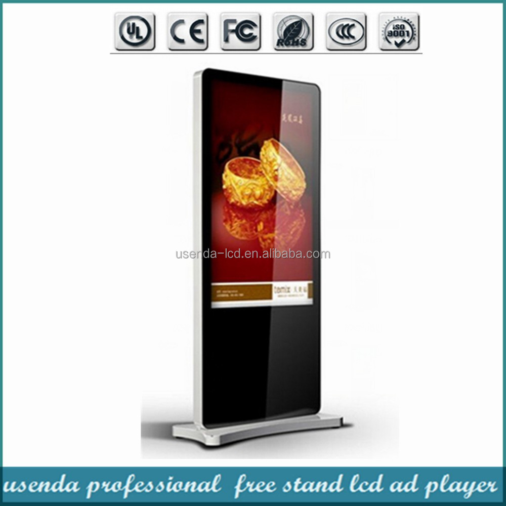 42 46 55 Inch Network Ad Indoor Lcd/Led Kiosk Android 3g Digital Signage Display