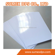 Wholesale 115g 135g 160g 180g 200g 230g 250g full color high glossy cast coated inkjet photo paper papel fotografico