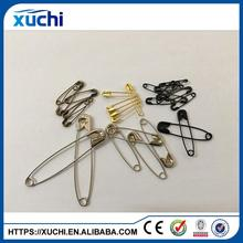 U shape coilless custom safety pins for decorative garment
