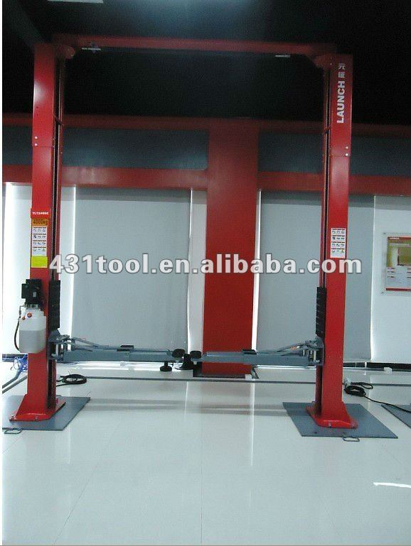 LAUNCH Brand garage 3.5T(7875lbs) two post eagle car lifts