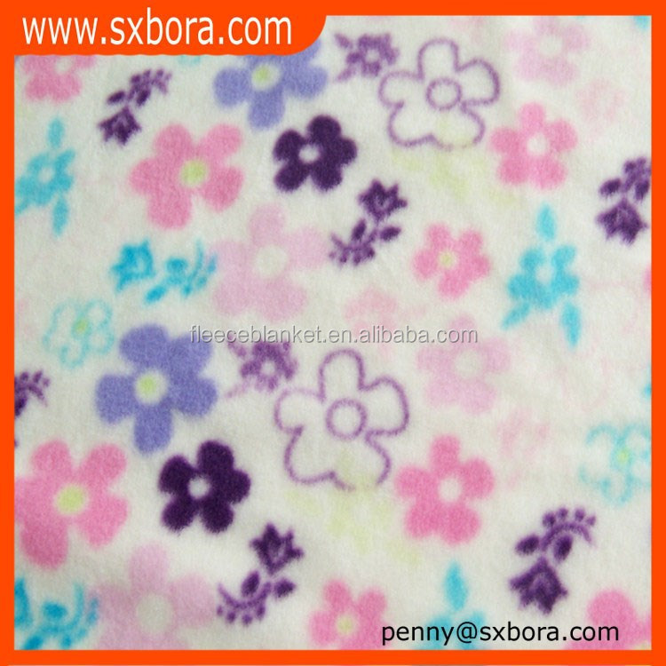 Dye polar fleece fabric for blanket wholesale