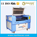 hot sell philicam co2 6090 80w laser cutting machine