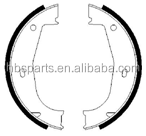 Brake shoes for BMW series