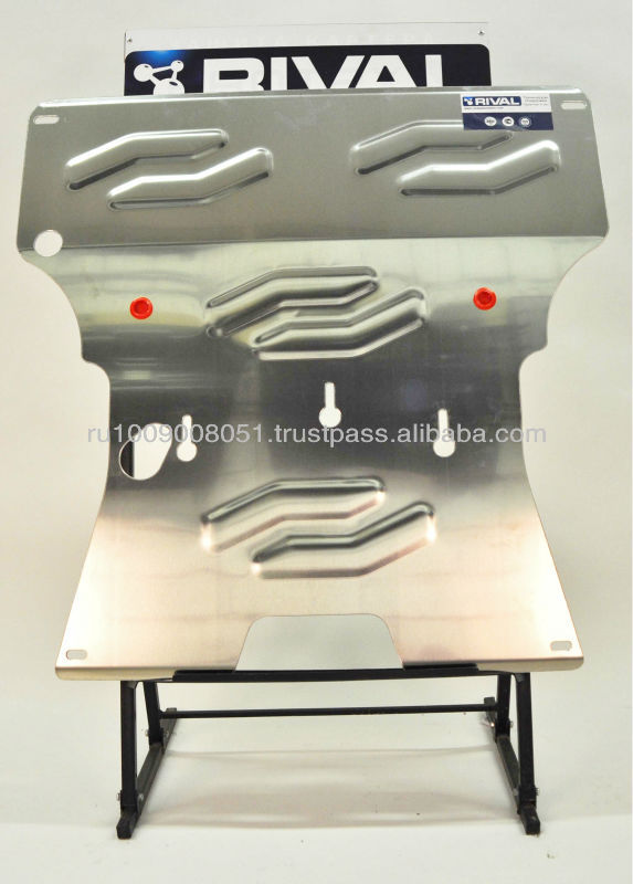 Aluminum skid plate for AUDI A5