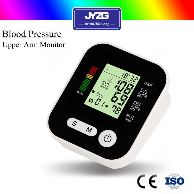 2017 best selling usb3.0 blood pressure monitor with digital LCD heart beat meter