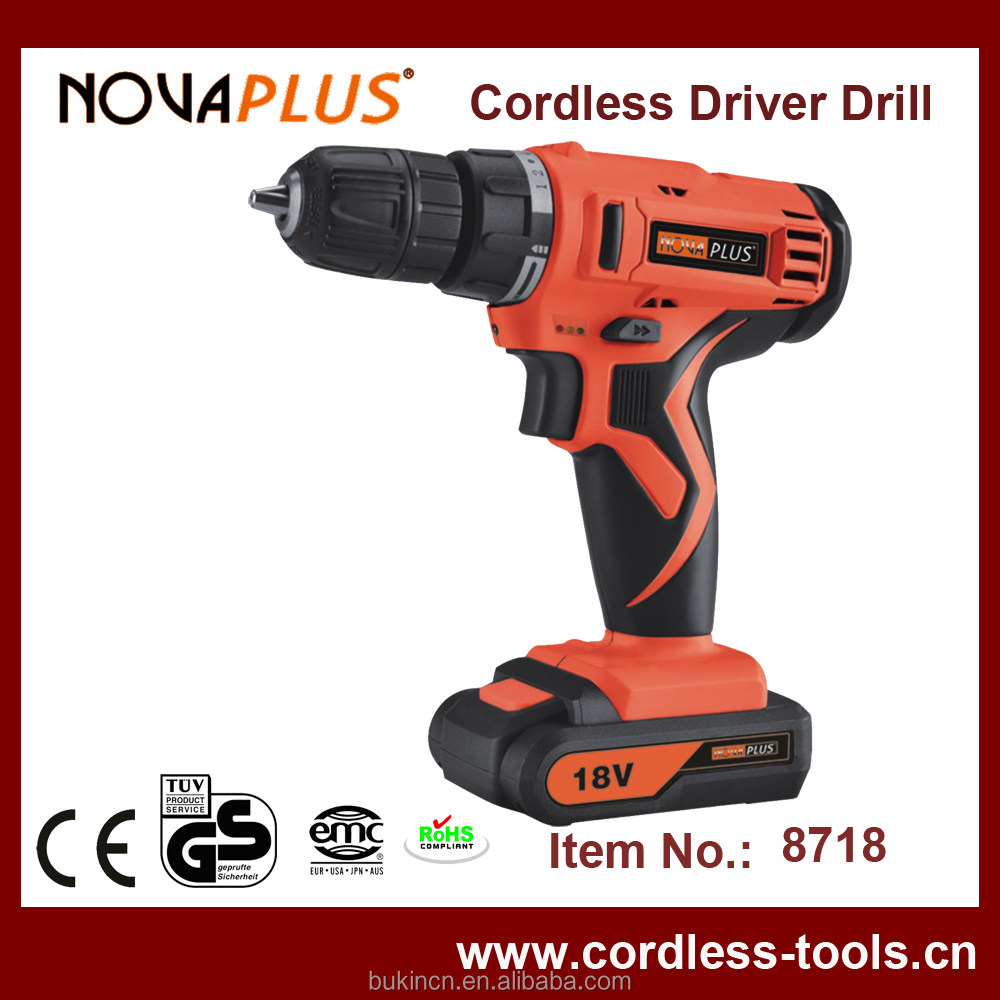 Low Price High Quality 18V Cordless Drill Mini Power Tools