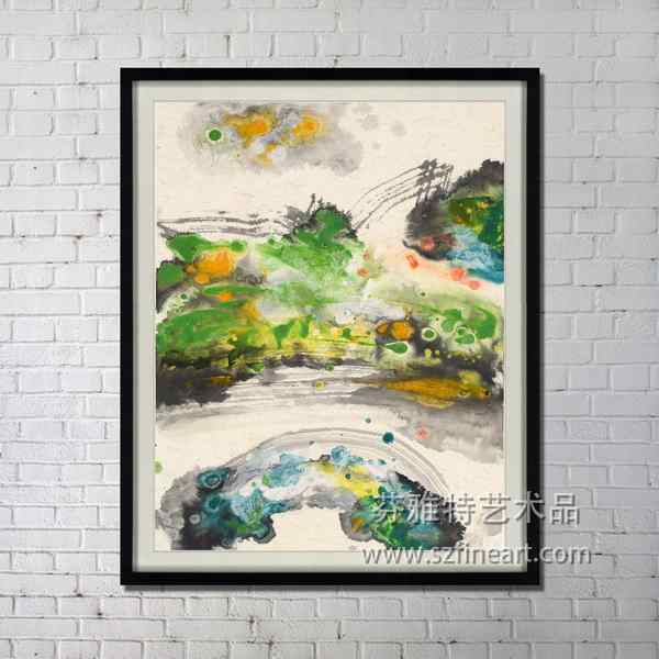 hotel decor Shenzhen dafen factory abstract design handmade oil painting