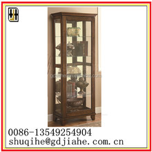 modern design leisure Decorate Curio Cabinet Wholesale