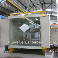 automatic booth spraying machine