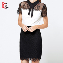 Wholesale Lace Office Lady Bandage Dress Latest Dress Designs For Ladies