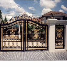 used wrought iron pictures of main door gate new design for sale