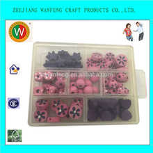 Wanfeng DIY wooden beads/custom wooden jewelry wooden crates wooden boxes