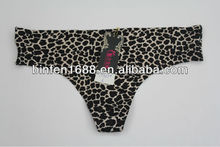 Leopard Print Seamless Sexy Ladies G-string