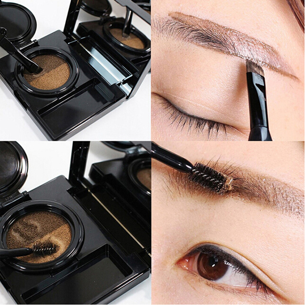 Nice eye shadow look eye brow kit natural ingredient for beauty daily makeup factory direct sale