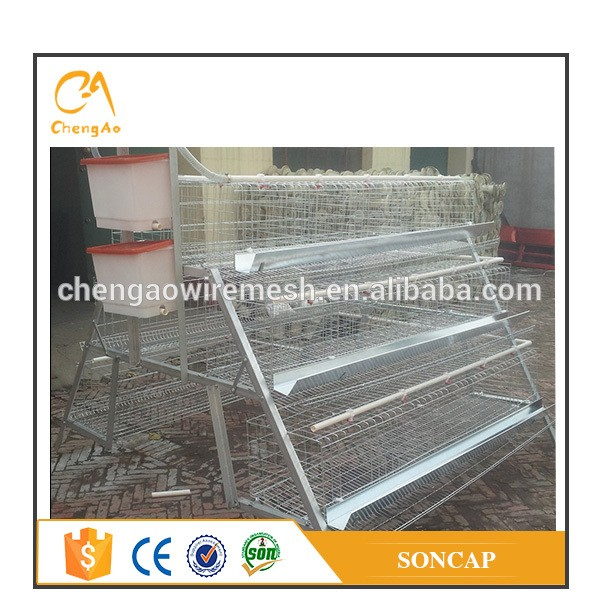 poultry farming equipment A type chicken use chicken egg layer cage