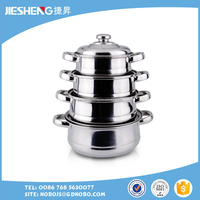 new style stainless steel cookware set for sale