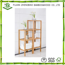 For sale bamboo 4 tier bathroom towel rack