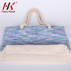 Top quality stylish custom made 100% cotton beach tote bag