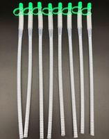 long flexible drinking straws with cap for Various Beverage