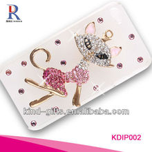 Bling Rhinestone Design Coach Cell Phone Case For Iphone5C 5S China Supplier