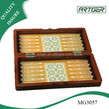 HOT Design antique MDF custom chess box