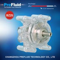 Prefluid BZ25 Dispensing Pump head, dosing pump setup