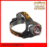 High Power 3 Modes Rechargeable Lights With Adjustable Band For Outdoor Activity 3 W Headlamp