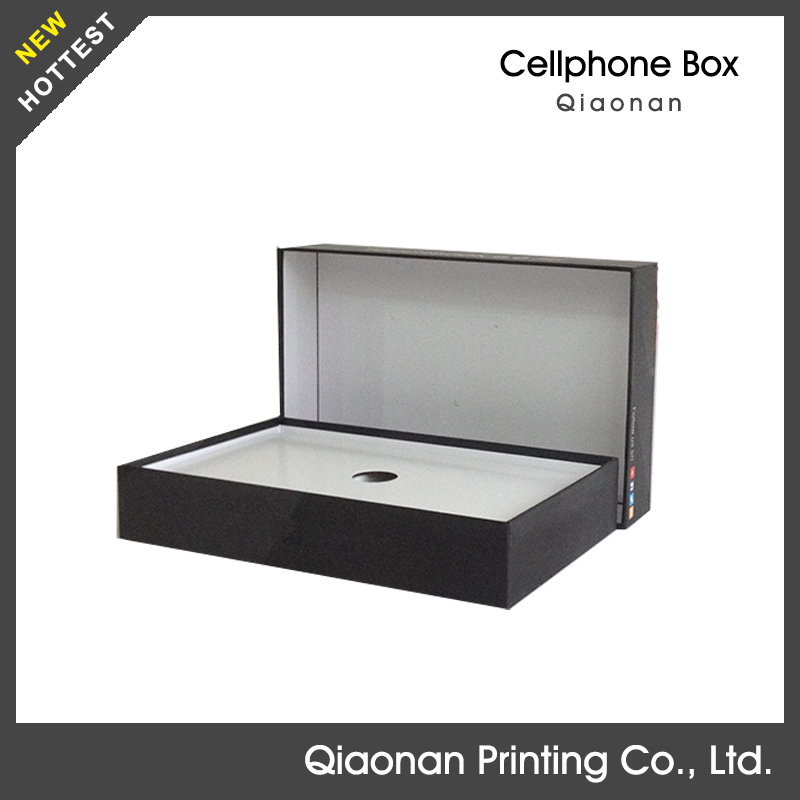 Empty genericstorage packing cell phone flash box