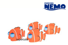 Classical Series of Nemo Vinyl rolling pop eye animal toy