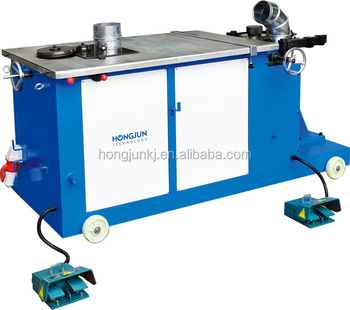 HJWT1000 Mechanical type elbow making machine for ventilation duct