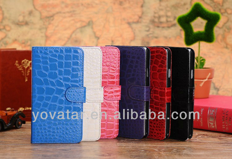 For Samsung Galaxy Note 3 III N9000 Case Leather Flip Crocodile Cover Case For Samsung Galaxy Note 3 III N9000