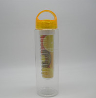 LFGB,FDA,EEC Certification and Plastic Material bpa free fruit infuser water bottle