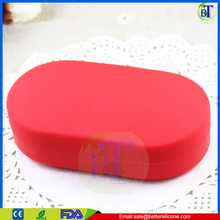 Wholesale High Quality Capsule Shaped 6 Cases plastic Storage Pill Boxes