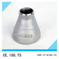 ASME B 16.9 304 316 stainless steel concentric reducer