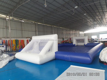 inflatable soccer pitch for adult football games