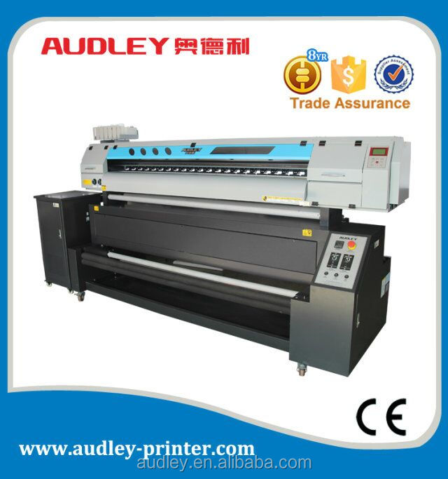 direct dye-sublimation digital textile printer wide format 1.8m 3.2m