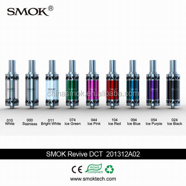 2014 top selling ecigs famous brand smok revive dct double coil atomizer on sale