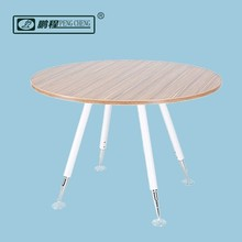 2016 New Office Furniture Collection Steel Wooden Round Table for Meeting Negotiation