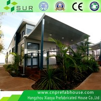 light steel structure container leisure room villa